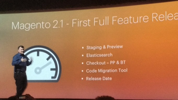 Announcement of Magento 2.1