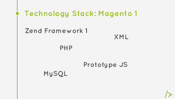 Technology Stack Magento 1