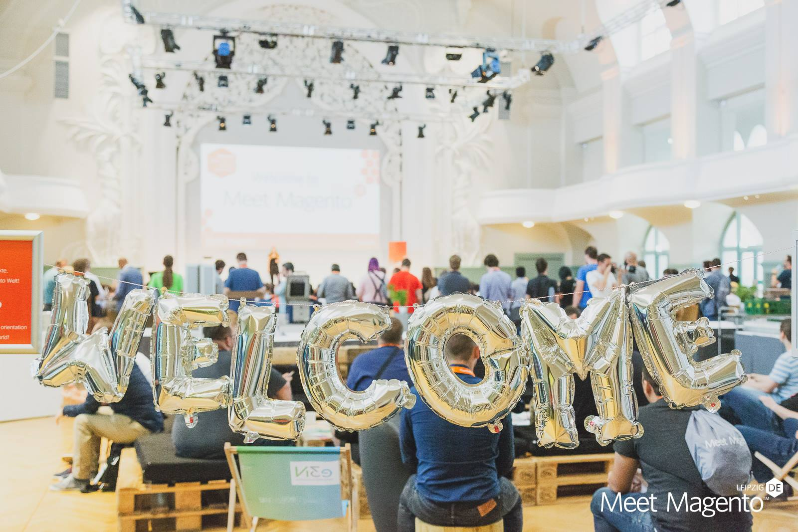 Welcome Wagon for newcomers at Meet Magento DE 2019