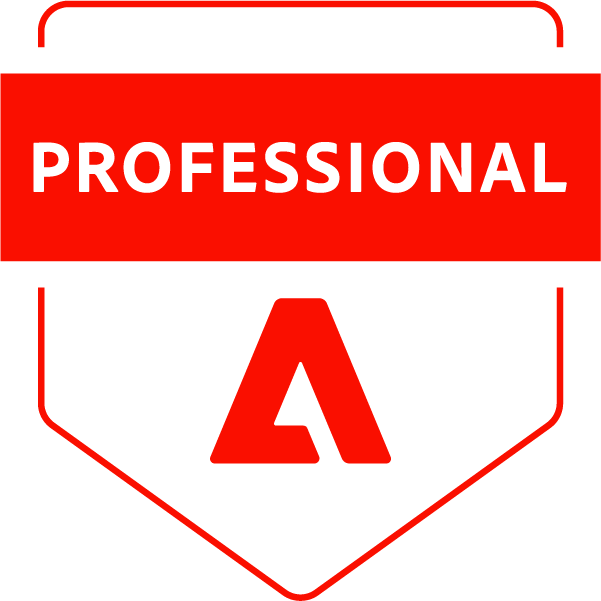 Adobe Certified Professional